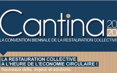 CANTINA 2020-La restauration collective à l'heure de l'économie circulaire