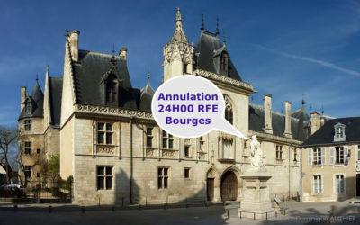 Annulation et report des 24H00 RFE Bourges à Avril 2021