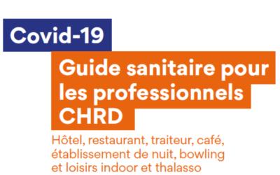 L'UMIH et ses syndicats associés mettent à disposition le guide sanitaire CHRD