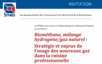 INVITATION Rencontre Experts sur les bio-gaz-Webmeeting Le 28 octobre 2020
