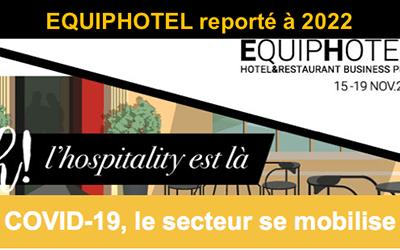 Report d'EQUIPHOTEL en 2022