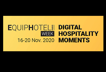 EQUIPHOTEL lance EQUIPHOTEL WEEK, DIGITAL HOSPITALITY MOMENTS du 16 au 20 novembre 2020